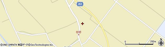 山形県上山市牧野47周辺の地図