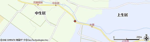 山形県上山市上生居11周辺の地図