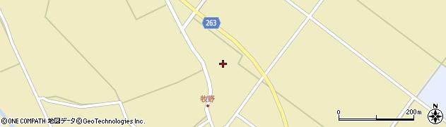 山形県上山市牧野44周辺の地図