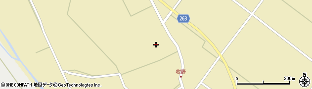 山形県上山市牧野35周辺の地図