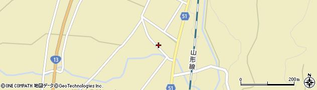 山形県上山市中山2702周辺の地図