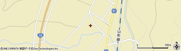 山形県上山市中山明神町2722周辺の地図