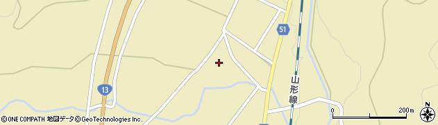 山形県上山市中山明神町2720周辺の地図