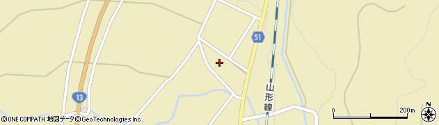 山形県上山市中山2715周辺の地図