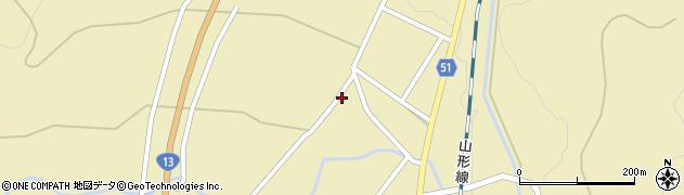 山形県上山市中山2733周辺の地図