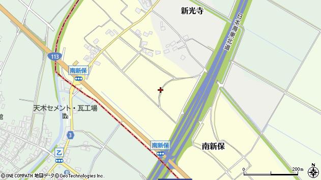 〒959-3114 新潟県村上市南新保の地図