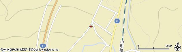 山形県上山市中山2729周辺の地図