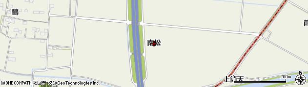 宮城県名取市堀内(南松)周辺の地図