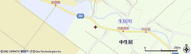 山形県上山市下生居248周辺の地図