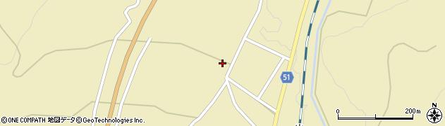 山形県上山市中山2554周辺の地図