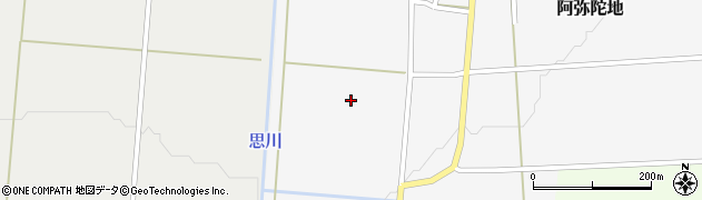 山形県上山市阿弥陀地232周辺の地図