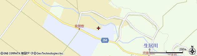 山形県上山市上生居田中237周辺の地図