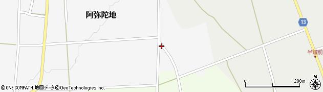 山形県上山市阿弥陀地上原921周辺の地図