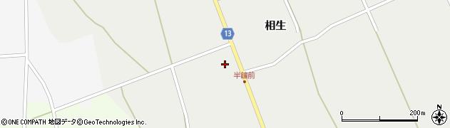 山形県上山市相生54周辺の地図