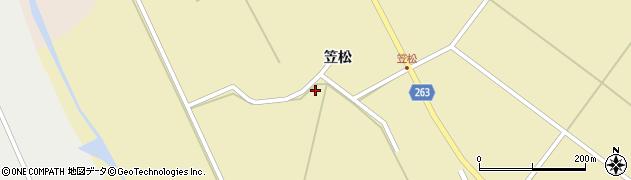 山形県上山市牧野笠松7周辺の地図