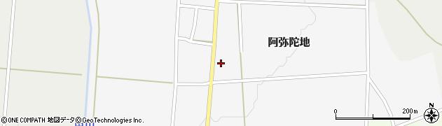 山形県上山市阿弥陀地6周辺の地図
