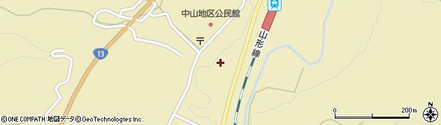 山形県上山市中山3063周辺の地図
