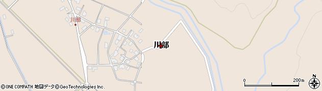 新潟県村上市川部周辺の地図