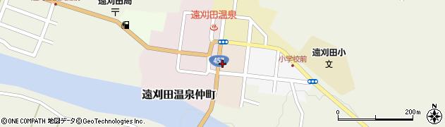 宮城県蔵王町(刈田郡)遠刈田温泉寿町周辺の地図