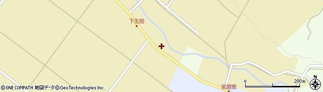山形県上山市下生居202周辺の地図
