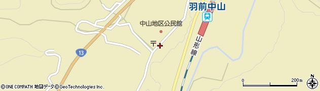 山形県上山市中山3069周辺の地図