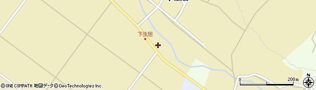 山形県上山市下生居197周辺の地図