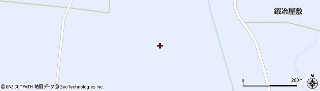 宮城県蔵王町(刈田郡)小村崎(六角地蔵)周辺の地図