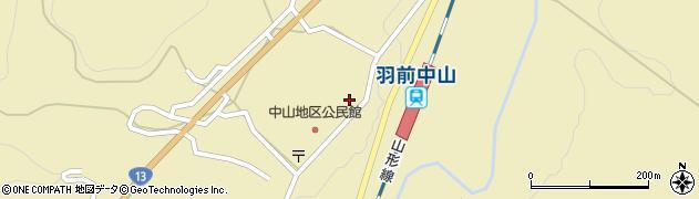 山形県上山市中山3168周辺の地図