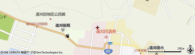 蔵王刈田嶺神社周辺の地図