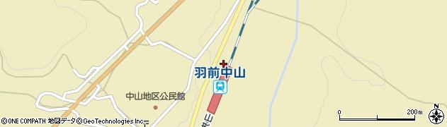山形県上山市中山3588周辺の地図