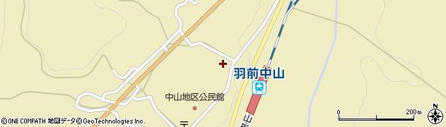 山形県上山市中山3184周辺の地図