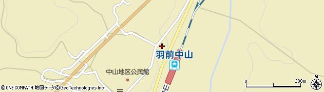 山形県上山市中山3593周辺の地図