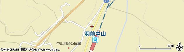 山形県上山市中山3587周辺の地図
