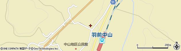 山形県上山市中山粡町3523周辺の地図