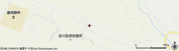 宮城県蔵王町(刈田郡)遠刈田温泉(行人坂)周辺の地図