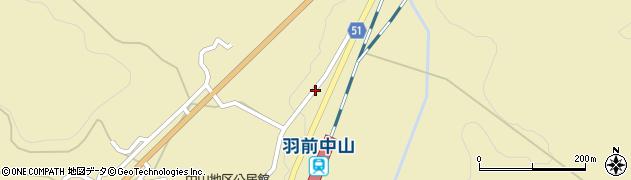 山形県上山市中山3578周辺の地図