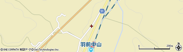 山形県上山市中山3576周辺の地図