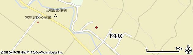 山形県上山市下生居151周辺の地図