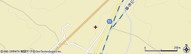 山形県上山市中山3558周辺の地図