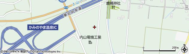 山形県上山市藤吾大田2213周辺の地図