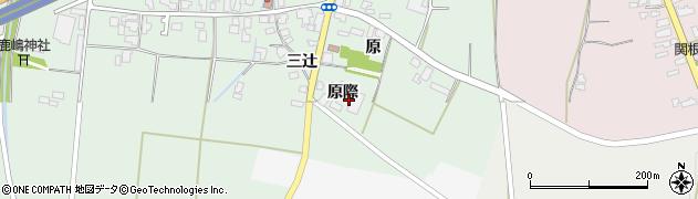 山形県上山市藤吾原際周辺の地図