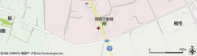 山形県上山市関根2周辺の地図