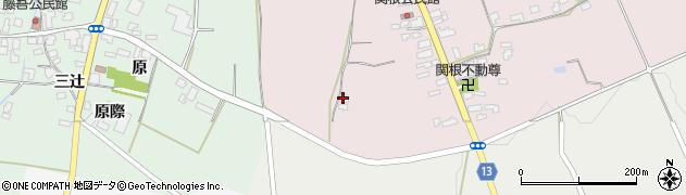山形県上山市関根ヤウラ752周辺の地図