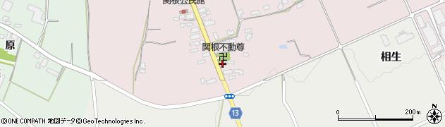 山形県上山市関根44周辺の地図