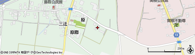 山形県上山市藤吾原2060周辺の地図