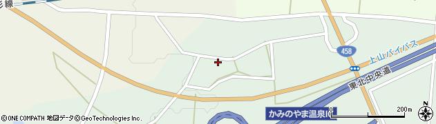 山形県上山市藤吾1235周辺の地図