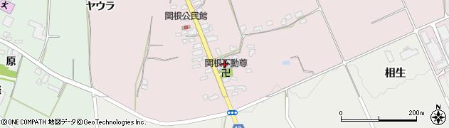 山形県上山市関根42周辺の地図