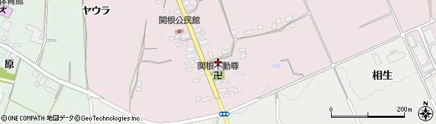 山形県上山市関根41周辺の地図