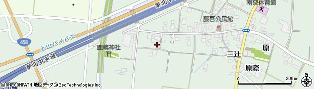 山形県上山市藤吾31周辺の地図