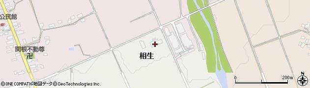 山形県上山市相生下御前殿周辺の地図